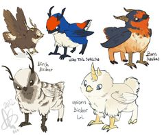 Been screwing around all night with Birdeers! xD  SO MUCH FUN AND THEY'RE SO ADORABLE I CAN'T STAND IIIIIT~