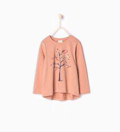 Image 1 of Tree T-shirt from Zara