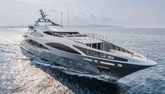 The 150-foot Benetti Panthera was launched late last year and recently unveiled to the press.