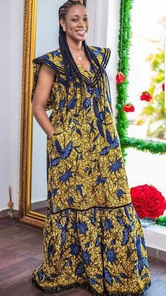 Latest Ankara Dresses, African Maxi Dresses, African Fashion Ankara, Latest African Fashion Dresses, African Dresses For Women, African Print Fashion, African Attire, Ankara Dress Designs, Fashion Outfits