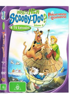 What's New Scooby-Doo? - Frighthouse Of A Lighthouse: Volume 9 DVD 2006 Region 4