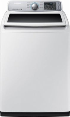 Samsung - 5.0 Cu. Ft. 11-Cycle High-Efficiency Top-Loading Washer - White - Front_Zoom