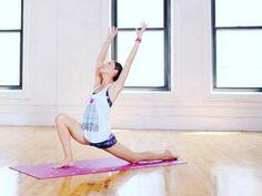 Tara stiles - yoga moves - hangover - womens health uk