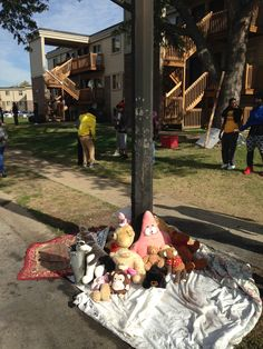 "Too stupid to understand that candles and teddy bears don't mix, the pavement apes in Ferguson rioted once again when their ""memorial"" to thug and hero, Mike Brown, burned."