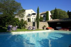 Mas de l'Amarine in Provence to rent exclusively for holidays or private events. Heated pool. Saint Rémy de Provence