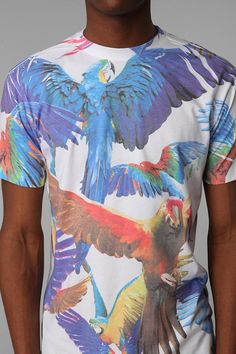 Parrot Tee  #UrbanOutfitters