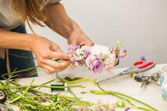 Flowers Bunch Composition   More Flower Artwork Workshops on creativefrance.fr