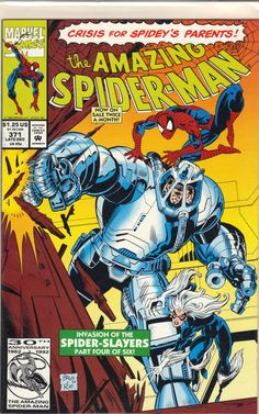 The Amazing Spider-man 371 marvel comics cover