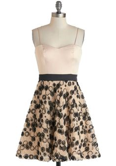 Bouquet of Rosettes Dress, #ModCloth (Found this site looking for a swimsuit today...vintage stuff, I'm in love)!