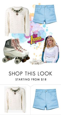 """""""soy luna"""" by maria-cmxiv on Polyvore featuring Gucci and River Island"""