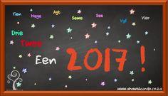 Ons wens julle 'n baie voorspoedige 2017 toe! Afrikaans, Toe, Afrikaans Language, Finger