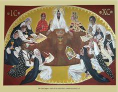 Irving Texas, Saint Dominic, Last Supper, Communion, Catholic, Saints, Angels, Bible, Artists