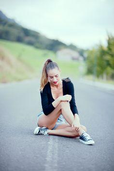 Converse www..absolutelyberta.com#blogsmoda #fashionblog #lookbook #converse #sportoutfit #streetstyle #shorts #shortsjeans #summerlook