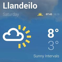 Friday Saturday and Sunday are due to be dry and even abit of sun for the Llandeilo Festival of Senses!