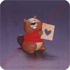 1994 Beaver with Valentine - Merry Miniature