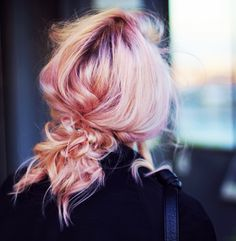 Angelica Blick. I really want my hair to be pink right now.