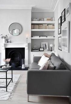 Home Renovation Design My soft, minimalist living-room makeover – the reveal Interior Design Minimalist, Minimalist Home Decor, Contemporary Interior Design, Modern Interior Design, Interior Design Inspiration, Modern Interiors, Design Ideas, Modern Minimalist, Minimalist Bedroom