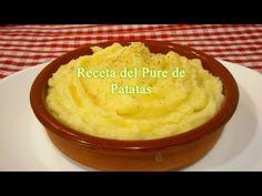 Como hacer puré de patatas, receta fácil/rápida - YouTube