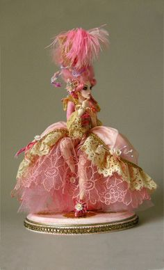 Marie Arden Pink Living: Marie Antoinette Valentine doll by Nicole West, Happy Pink Saturday