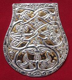 A karosi 29. sír tarsolylemeze Korn, Hungary, Skeleton, Brooch, Personalized Items, History, Accessories, Jewelry, Taschen