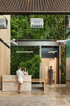 Office Architecture Gallery of Kathleen Kilgour Centre / Wingate + Farquhar Architects - 19 Kathleen Kilgour Centre Office Reception Desk, Tauranga, New Zealand Lobby Design, Design Hotel, Design Entrée, Design Blog, Restaurant Design, Design Ideas, Restaurant Chairs, Design Styles, Wall Design