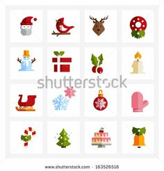 Holiday Vector Set Stock Photos, Holiday Vector Set Stock Photography, Holiday Vector Set Stock Images : Shutterstock.com
