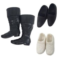 NK 3 Pairs Fashion Doll Shoes Heels Sandals For Ken Dolls Accessories High Quality Baby Toy