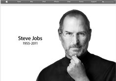 Apple.com homepage #SteveJobs
