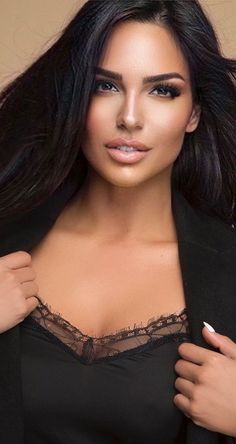 Beautiful Eyes, Gorgeous Women, Brunette Beauty, Hair Beauty, Brown Eyed Girls, Beauty Full Girl, Elegant Woman, Hair Styles, Glamour