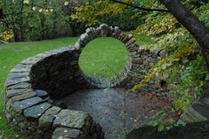 moon gate (would be a nice entrance to a moon garden :) )