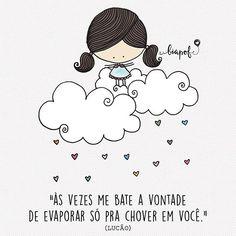 e que chuva boa :) ✨ @blogdolucao #lucao #biaPOF