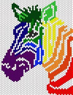 Kandi Patterns for Kandi Cuffs - Animals Pony Bead Patterns Pony Bead Patterns, Kandi Patterns, Hama Beads Patterns, Peyote Patterns, Beading Patterns, Embroidery Patterns, Cross Stitch Designs, Cross Stitch Patterns, Cross Stitching