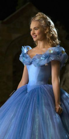malefecent: Cinderella 2015 + Cinderella - The Evolution of Disney Cinderella 2015, Cinderella Cosplay, Cinderella Movie, Cinderella Dresses, Cinderella Ballgown, Cinderella Quotes, Quinceanera Dresses, Prom Dresses, Wedding Dresses