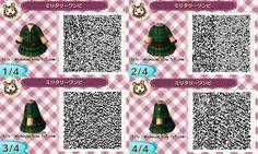 New Leaf Fashion green military steampunk dress
