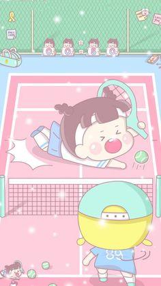 Normal Wallpaper, Kawaii Wallpaper, Cute Wallpaper Backgrounds, Cartoon Wallpaper, Cute Wallpapers, Kawaii Art, Kawaii Anime, Cellphone Wallpaper, Iphone Wallpaper