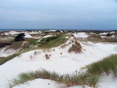 Majestic dunes surrounding clean bodies of water - Dueodde, Bornholm, Denmark