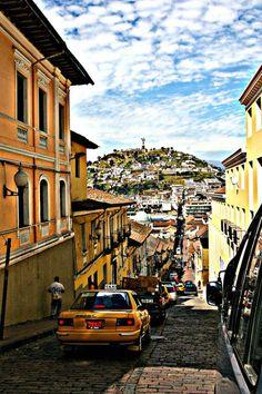 Quito Old Town, Ecuador  ♥♥♥