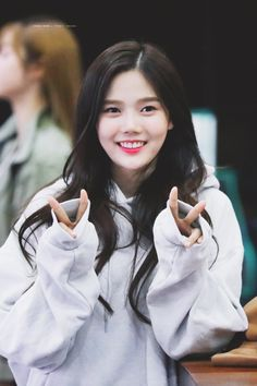Oh my girl - Hyojung Kpop Girl Groups, Korean Girl Groups, Kpop Girls, Cute Girls, Cool Girl, Rapper, Girls Twitter, Abs Women, Photo P