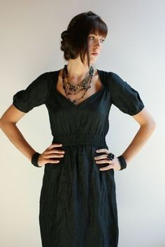 parisienne dress by modaspia on etsy