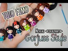 "Tuto FMO - poupée style ""Gorjuss"" Inspired - YouTube Polymer Clay Projects, Diy Clay, Clay Crafts, Diy And Crafts, Fimo Kawaii, Baby Illustration, Cute Clay, Asian Doll, Fondant Cupcakes"