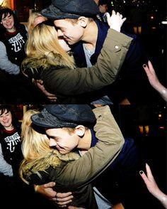 Harry with a fan