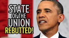 """State of the Union: Barack Obama Rebutted! ------- """"Herd mentality: ylhäältä-alas-johtaja, suoja ulkoisia uhkia vastaan"""""""