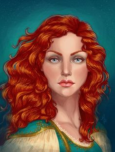 How to vector hair. Very cool illustrations.