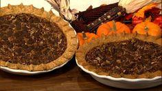 the chew   Recipe   Carla Hall's Chocolate Pecan Pie