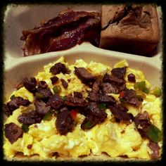 Steak & Eggs. - Paleo Breakfast