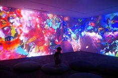Pipilotti Rist - Sip My Ocean - MCA Pipilotti Rist, Street Art, Dreams And Nightmares, Museum Of Contemporary Art, Installation Art, Art Installations, Interactive Design, Light Art, Medium Art
