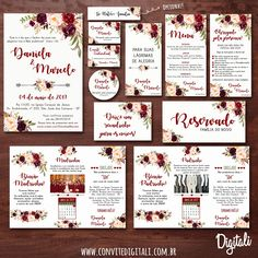 Convite Girassol - Arte Digital é na Digitali - Digitali Convites e Kits Digitais Vintage Wedding Invitations, Rustic Invitations, Wedding Favors, Party Invitations, Wedding Decorations, Trendy Wedding, Our Wedding, Rustic Wedding, Pink Manicure