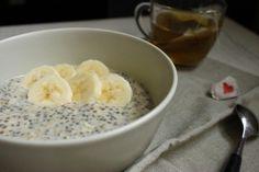 porridge banane chia flocons avoine 2