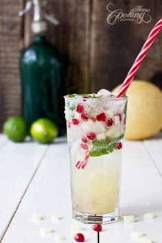 Melon Mojito-one of the best drinks ever