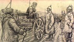 Vladimir Becić. Serbian retreat 1915. King Peter | by Musketier Küppers